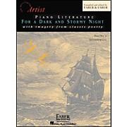 Faber Piano Adventures Piano Literature for A Dark And Stormy Night Volume 1 Intermediate Book - Faber Piano