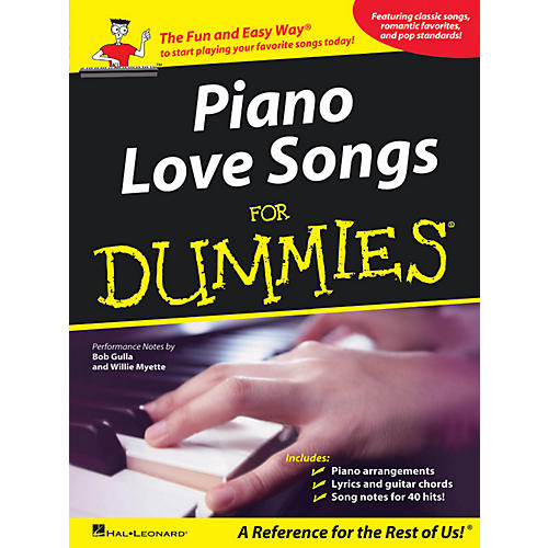 Hal Leonard Piano Love Songs For Dummies-thumbnail