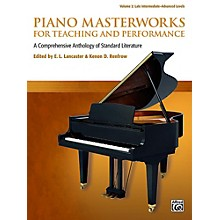 Alfred Piano Masterworks for Teaching and Performance, Volume 2 - Late Intermediate / Advanced