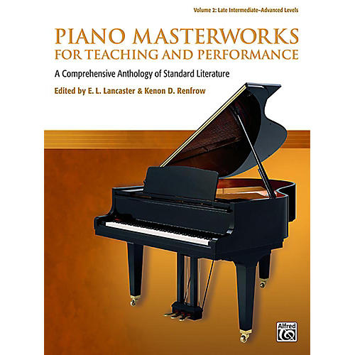 Alfred Piano Masterworks for Teaching and Performance, Volume 2 - Late Intermediate / Advanced-thumbnail