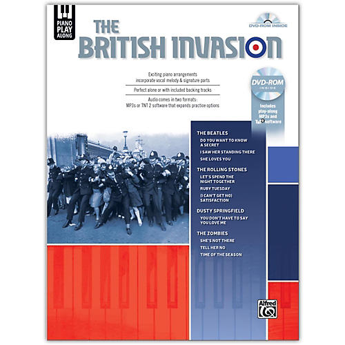 Alfred Piano Play-Along: The British Invasion, Piano/Vocal Songbook & DVD-ROM