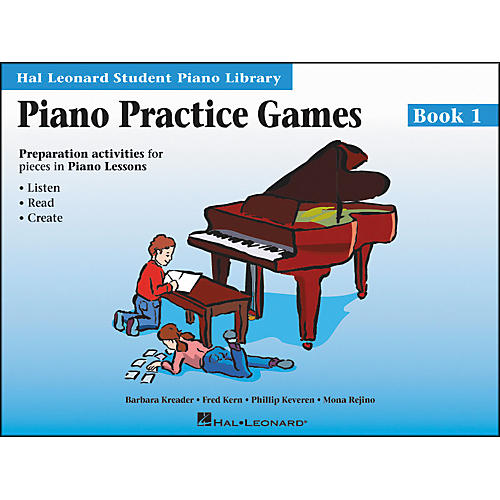 Hal Leonard Piano Practice Games Book 1 Hal Leonard Student Piano Library-thumbnail