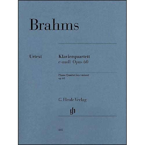 G. Henle Verlag Piano Quartet C Minor Op. 60 By Brahms-thumbnail