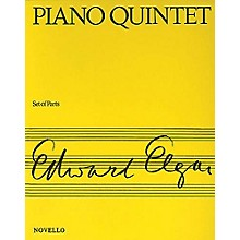Music Sales Piano Quintet Op. 84 Music Sales America Series Composed by Edward Elgar