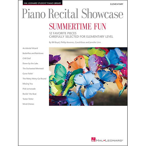 Hal Leonard Piano Recital Showcase - Summertime Fun - Elementary Level Book
