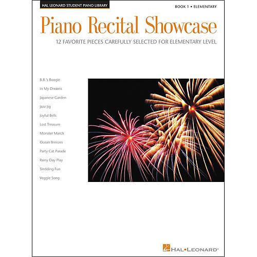 Hal Leonard Piano Recital Showcase Book 1 Elementary Hal Leonard Student Piano Library-thumbnail