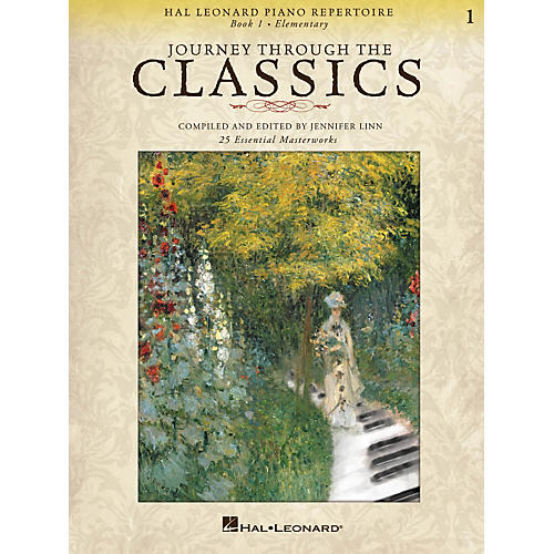 Hal Leonard Piano Repertoire - Journey Through The Classics Book 1 Elementary-thumbnail