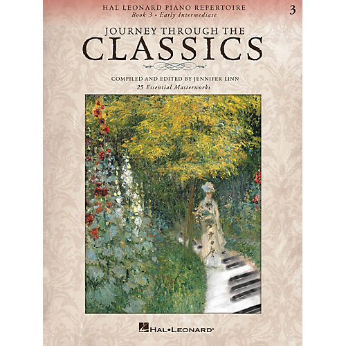 Hal Leonard Piano Repertoire Series - Journey Through The Classics Book 3 Early Intermediate-thumbnail