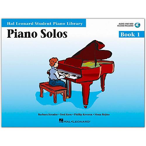 Hal Leonard Piano Solos Book 1 Book/CD Hal Leonard Student Piano Library-thumbnail