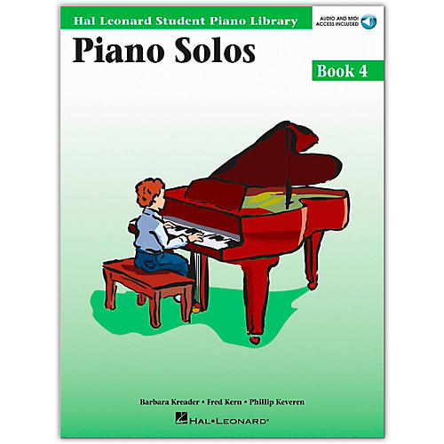 Hal Leonard Piano Solos Book 4 Book/Online Media Hal Leonard Student Piano Library-thumbnail