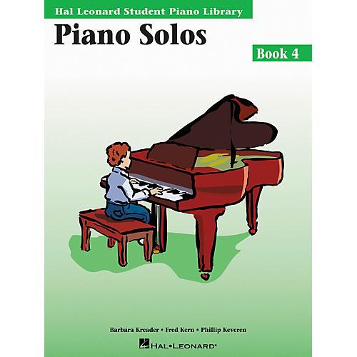 Hal Leonard Piano Solos Book 4 Hal Leonard Student Piano Library