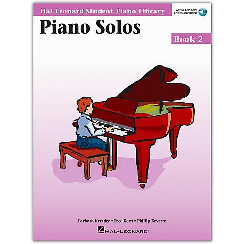 Hal Leonard Piano Solos Book/Online Audio 2 Hal Leonard Student Piano Library Book/Online Audio