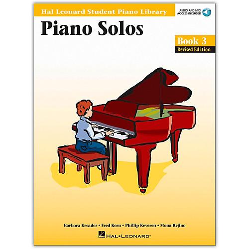 Hal Leonard Piano Solos Book/Online Audio 3 Hal Leonard Student Piano Library Book/Online Audio