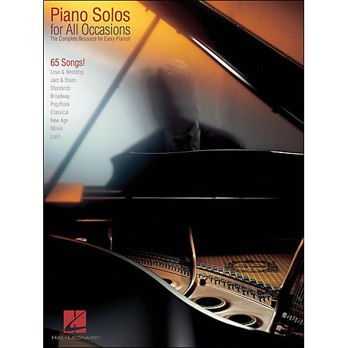 Hal Leonard Piano Solos for All Occasions - Complete Resource for Every Pianist arranged for piano solo-thumbnail