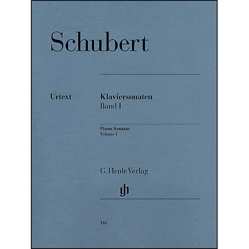 G. Henle Verlag Piano Sonatas - Volume I By Schubert