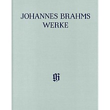 G. Henle Verlag Piano Sonatas Henle Complete Edition Series Hardcover Composed by Johannes Brahms Edited by Katrin Eich
