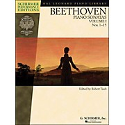 G. Schirmer Piano Sonatas Vol.1 (1 - 15) Schirmer Performance Edition Book Only By Beethoven / Taub