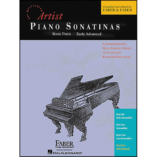 Faber Piano Adventures Piano Sonatinas Book 4 Early Advanced - Faber Piano-thumbnail