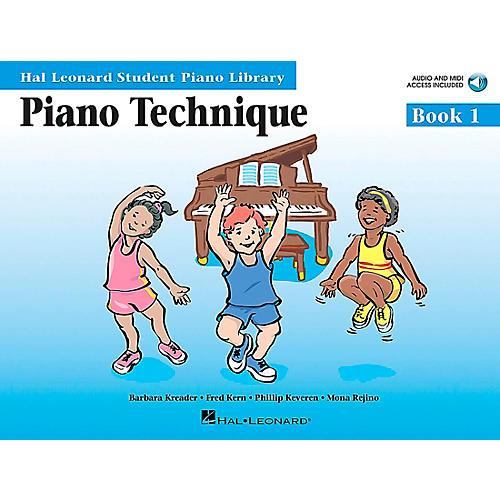 Hal Leonard Piano Technique Book 1 Book/CD Hal Leonard Student Piano Library-thumbnail
