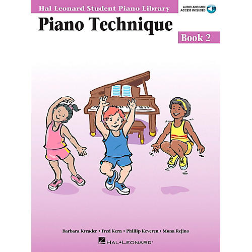 Hal Leonard Piano Technique Book 2 Book/CD Hal Leonard Student Piano Library-thumbnail
