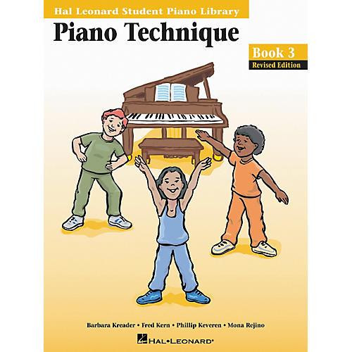 Hal Leonard Piano Technique Book 3 Hal Leonard Student Piano Library-thumbnail