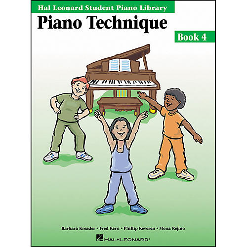 Hal Leonard Piano Technique Book 4 Hal Leonard Student Piano Library