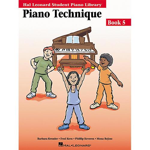 Hal Leonard Piano Technique Book 5 Hal Leonard Student Piano Library-thumbnail
