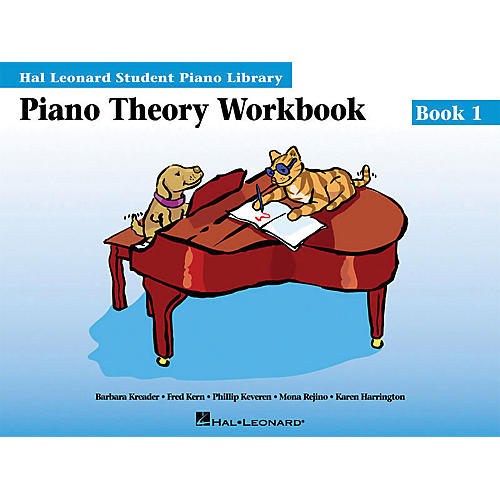 Hal Leonard Piano Theory Workbook 1 HLSPL