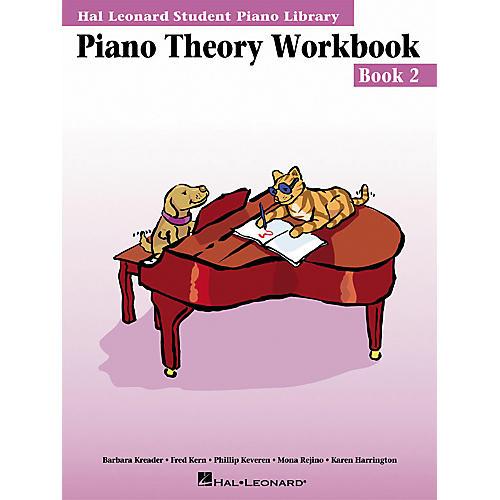 Hal Leonard Piano Theory Workbook 2 Hal Leonard Student Piano Library