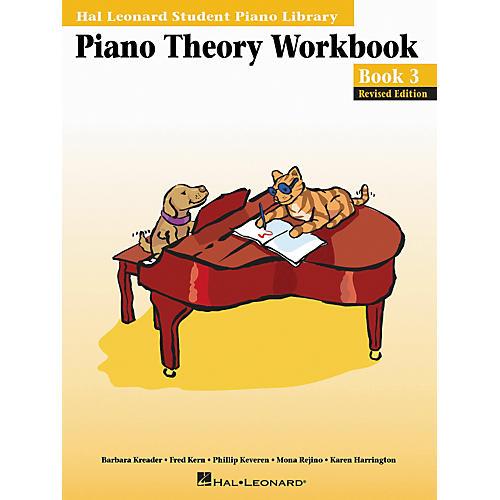 Hal Leonard Piano Theory Workbook 3 Hal Leonard Student Piano Library