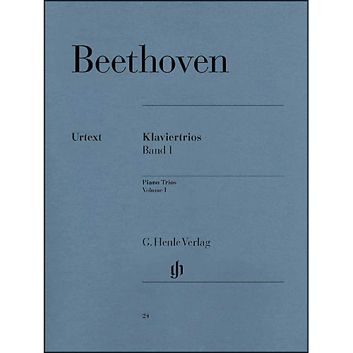 G. Henle Verlag Piano Trios - Volume I By Beethoven-thumbnail