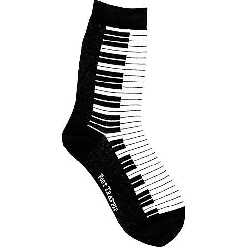 Foot Traffic Piano Women's Socks-thumbnail