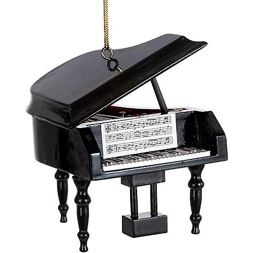 Kurt S. Adler Piano Wood Ornament