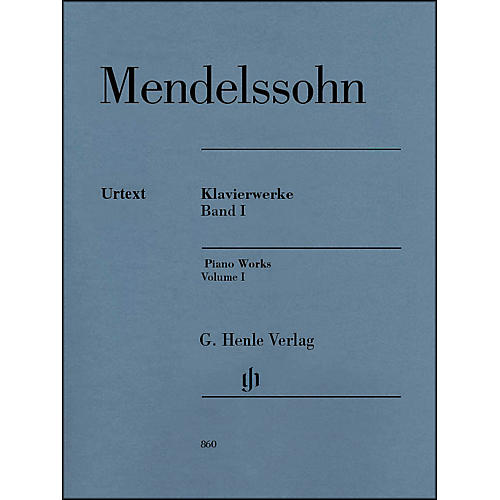 G. Henle Verlag Piano Works Volume I By Mendelssohn-thumbnail
