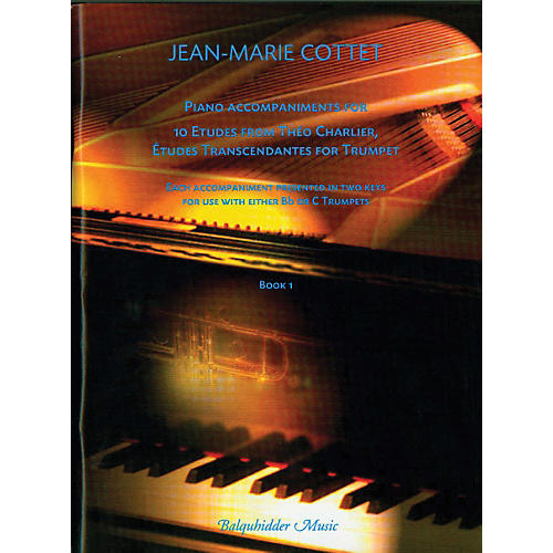 Carl Fischer Piano accompaniments for 10 Etudes Transcendantes for Trumpet Book