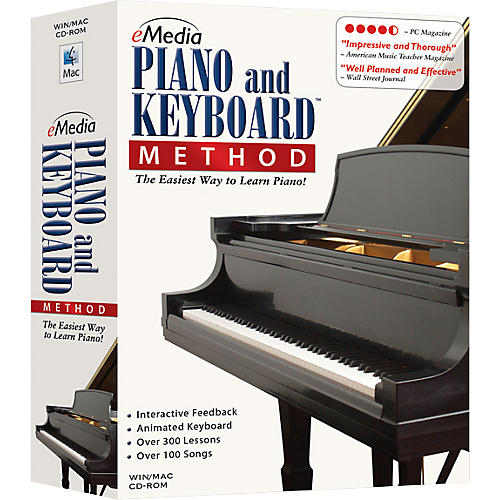 eMedia Piano and Keyboard Method CD-ROM