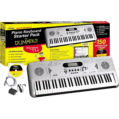 Emedia Piano for Dummies 61-Key Keyboard Starter Pack-thumbnail