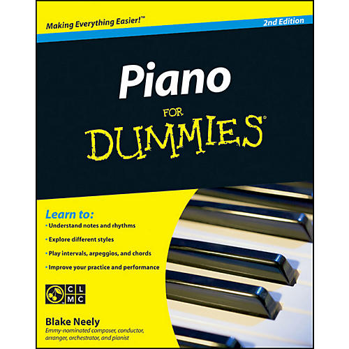 Mel Bay Piano for Dummies, Second Edition Book/CD Set-thumbnail