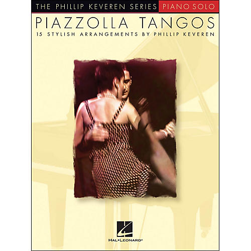 Hal Leonard Piazzolla Tangos - Phillip Keveren Series arranged for piano solo-thumbnail