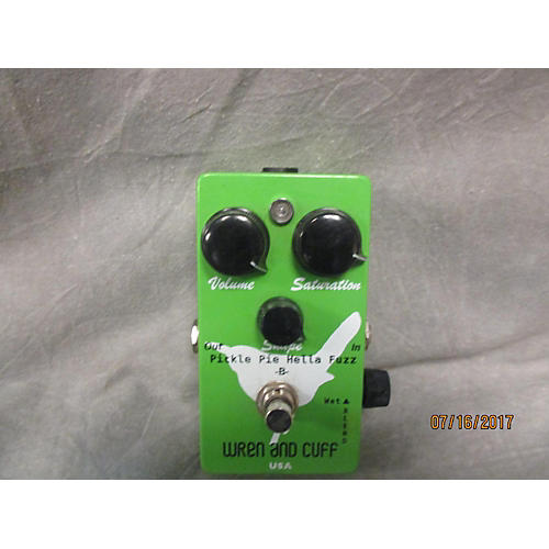 Wren And Cuff Pickle And Pie Hella Fuzz B Bass Effect Pedal
