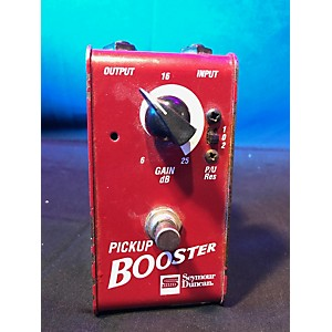 Pre-owned Seymour Duncan Pickup Booster Effect Pedal by Seymour Duncan
