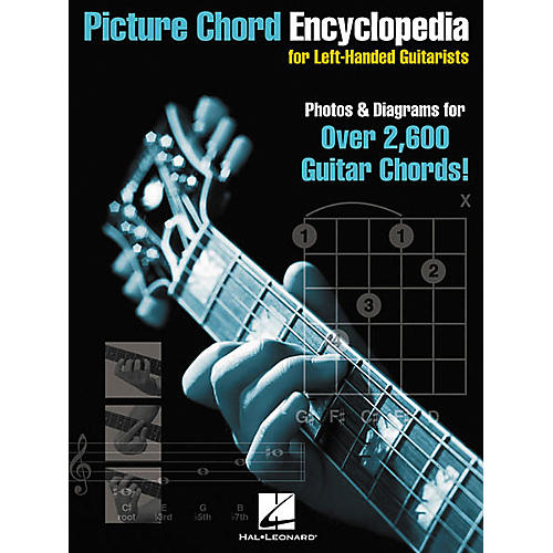 Hal Leonard Picture Chord Encyclopedia for Left-Handed Guitarists 9x12 Book-thumbnail