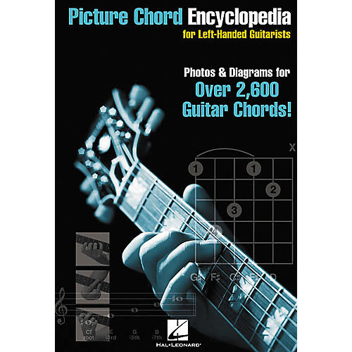 Hal Leonard Picture Chord Encyclopedia for Left-Handed Guitarists Book