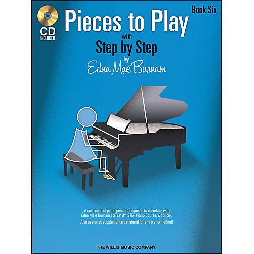 Willis Music Pieces To Play Book 6 Book/CD-thumbnail