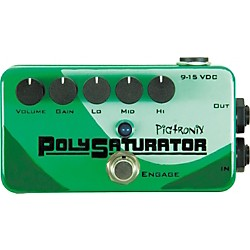 Pigtronix PolySaturator Distortion Guitar Effects Pedal (PSO)