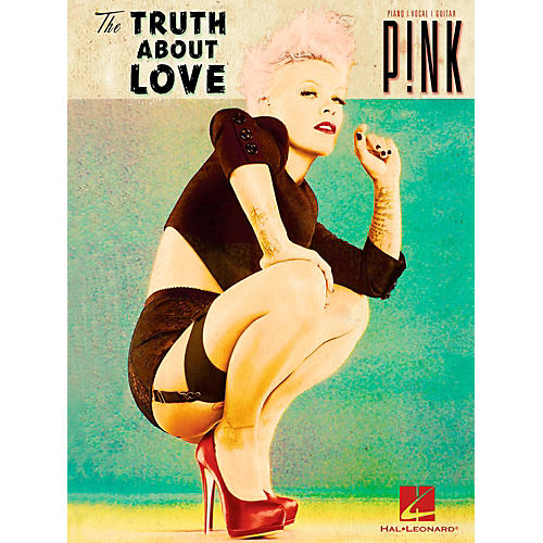 Hal Leonard Pink - The Truth About Love Piano/Vocal/Guitar (PVG)-thumbnail