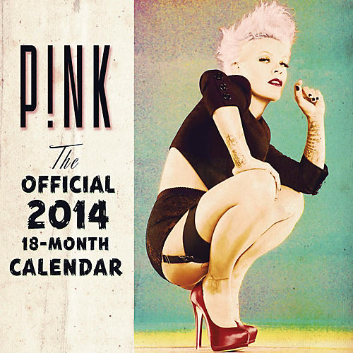 Browntrout Publishing Pink 2014 Calendar Square 12x12