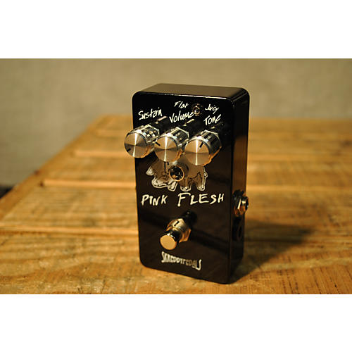 Skreddy Pink Flesh Distortion Effect Pedal
