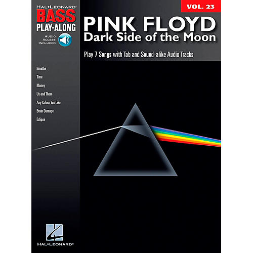 Hal Leonard Pink Floyd - Dark Side of the Moon - Bass Play-Along Series, Volume 23 (Book/CD)-thumbnail