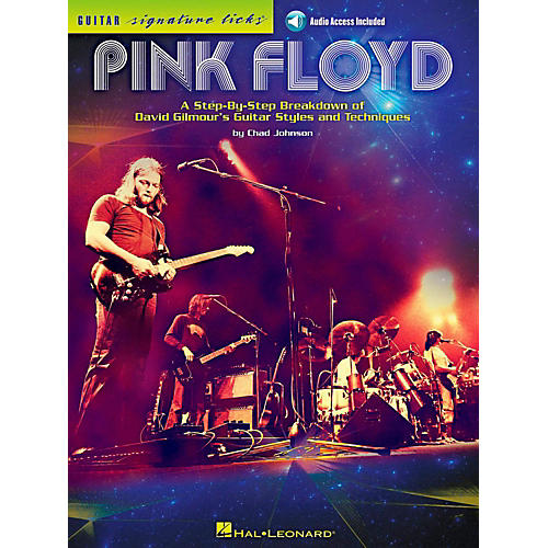 Hal Leonard Pink Floyd - Guitar Signature Licks Book/Online Audio